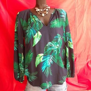 OLD NAVY Peasant Top Long Sleeve Size M